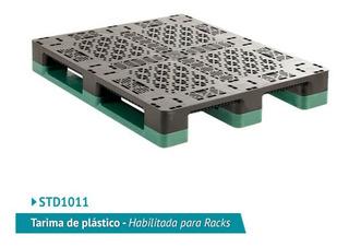 Tarima De Plastico Estandar Std1011 Para Racks