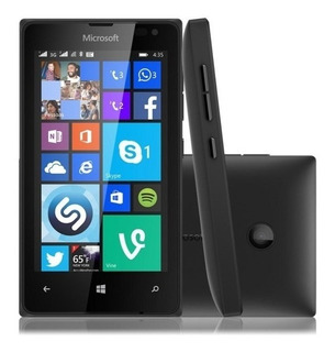 Microsoft Lumia 532 Dual Sim Tv Desbloqueado Preto Windows