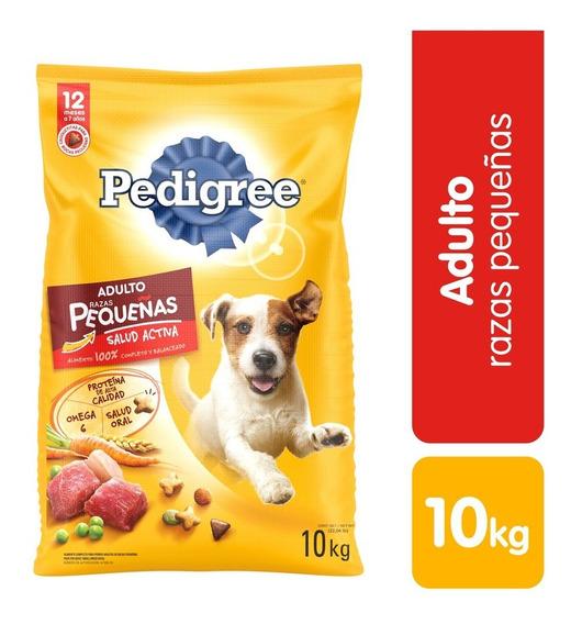 Alimento Para Perro Adulto Seco Razas Grandes Pedigree 10