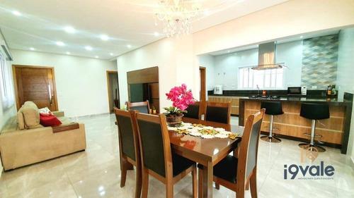 Casa Com 3 Dormitórios À Venda, 215 M² Por R$ 980.000,00 - Parque Califórnia - Jacareí/sp - Ca0800
