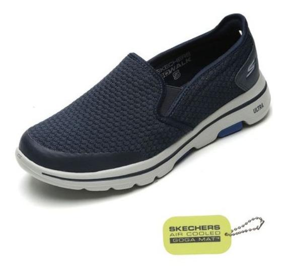 Tênis Skechers Go Walk 5 Apprize Azul-marinho