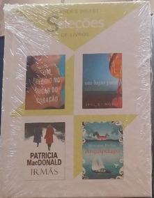 Lote 201- Livro Seleções Readers Digest 4títulos Cada) Novo