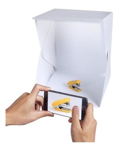 Estúdio Fotográfico Profissional Smartphone Dobrável 20x Led