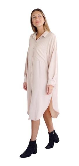 Camisa Arandano (art 2031) Camisa Vestido De Crep