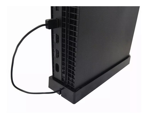 Base Suporte Vertical Stand Hold Xbox One X 2 Cooler One X