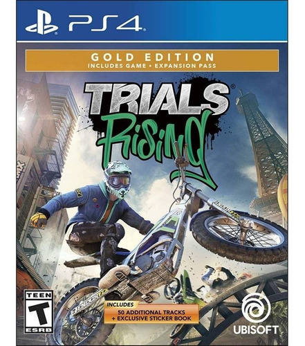 Trials Rising Gold Edition - Ps4 Fisico Nuevo & Sellado