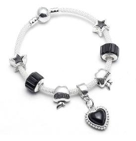 Pulseira Pandora Crie E Combine Bracelete Malha C/ Berloques