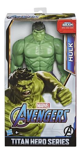 Imagem 1 de 3 de Titan Hero Avengers Hulk Blast Gear Hasbro