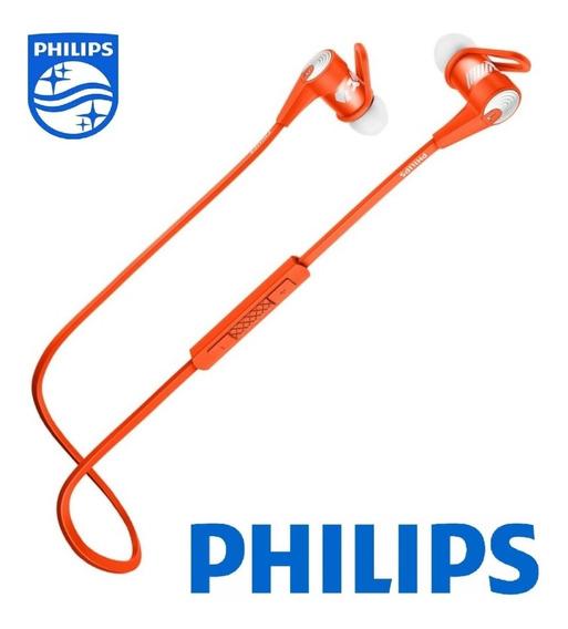 Fone De Ouvido Philips Shq7300 7300 Bluetooth Nfc - Laranja