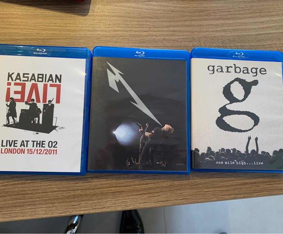 Blu-ray Metallica + Garbage + Kasabian - Todos Por 75