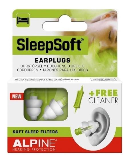 Protetor Auricular Alpine Sleepsoft Dormir Barulho Ronco