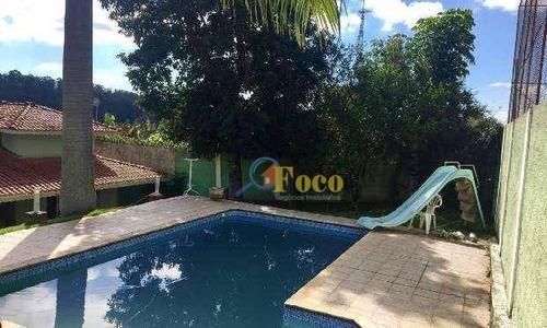 Chácara Com 4 Dormitórios À Venda, 375 M² Por R$ 1.200.000,00 - Condomínio Parque Da Fazenda - Itatiba/sp - Ch0032