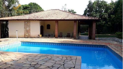 Chácara Com 3 Dormitórios À Venda, 3200 M² Por R$ 480.000,00 - Portal Pirapora - Salto De Pirapora/sp - Ch0001