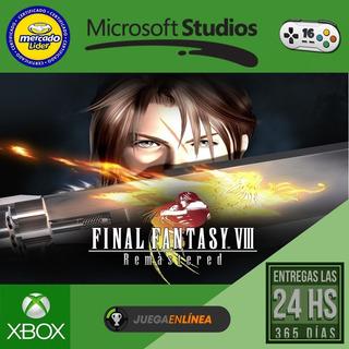 Final Fantasy Viii - Xbox One Modo Local + En Linea