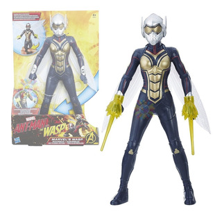 Marvel Ant Man The Wasp Tecno Alas Aguijones Hasbro Original