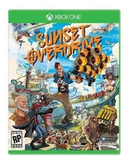Jogo Sunset Overdrive Xbox One Midia Fisica