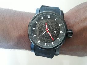 Relógio Masculino Dragon S1 Preto + Veja O Vídeo No Youtube