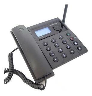 Telefone Rural Motorola Fx900p Celular De Mesa Novo