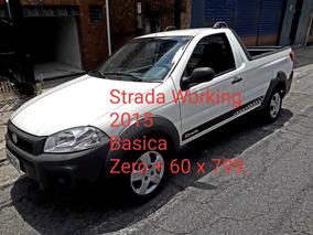 Fiat Strada 1.4 Working Flex 2p Zero Entrada+799 Par