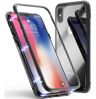 Protector 360 Magnetico iPhone X 10 Vidrio Adelante Y Atras®