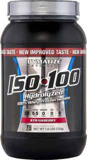 Dymatize Iso-100 Hydrolyzed Whey Protein Powder -1,76 Lbs !!