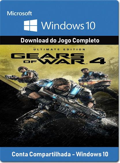 Gears Of War 4 Ultimate - Windows 10 - Online - Pc