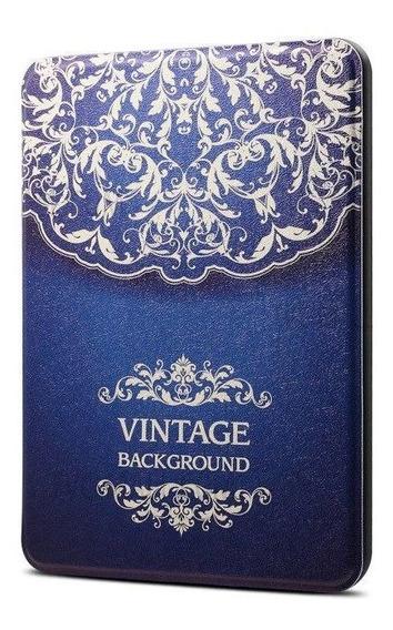 Capa Novo Kindle 10 Geração Hibernação Magnético Vintage