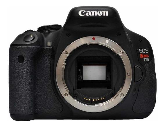 Corpo Câmera Canon T3i