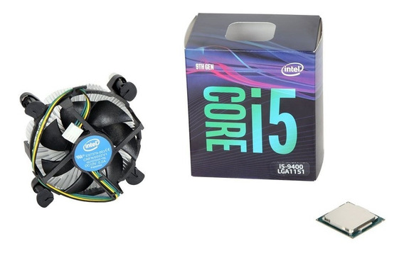 Processador Intel Core I3 9400 Coffee Lake Cache 9mb 4.1ghz