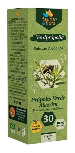 Imagem 1 de 7 de Própolis Verde Alcoólico 30% Fauna E Flora Imunidade 30ml