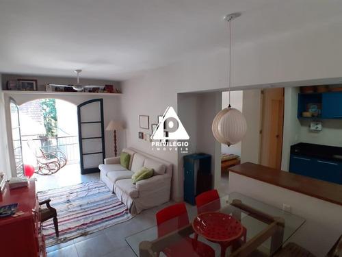 Apartamento À Venda, 2 Quartos, 1 Suíte, 1 Vaga, Humaitá - Rio De Janeiro/rj - 22012