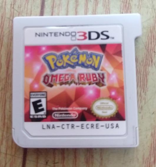 Pokemon Omega Ruby - 3ds - Original - Sem Capa
