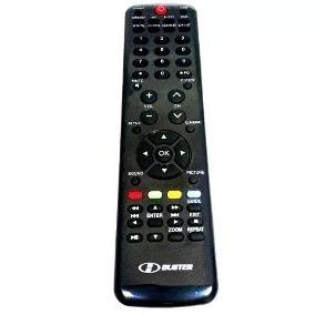 (022) Controle Remoto P.tv Lcd H-buster / Htr D19 - Original