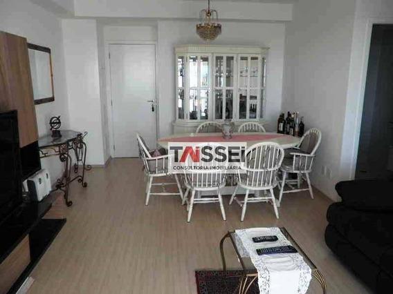 Apartamento À Venda, 76 M² Por R$ 680.000,00 - Jardim Anália Franco - São Paulo/sp - Ap4487