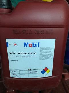 Aceite Mobil 25w50 X 20 Litros