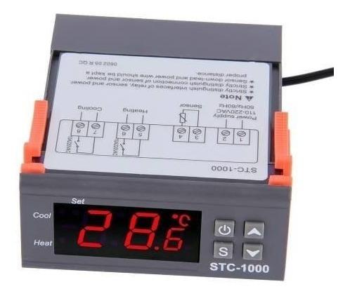 Stc 1000 Termometro Termostato Digital Duplo Rele Chocadeira