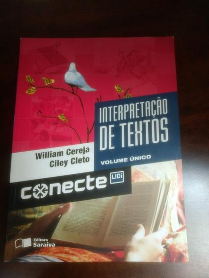 Livro Interpretação De Textos Conecte Editora Saraiva