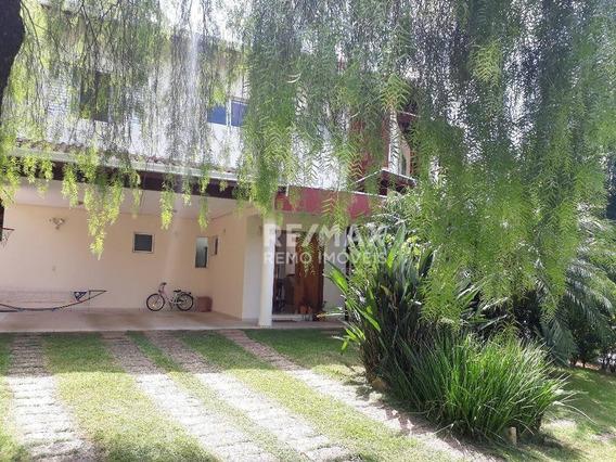 Casa Em Frente Ao Bosque Com 3 Dorm, 1 S, 254 M² Por R$ 5.000/mês - Condomínio Ouro Verde - Valinhos/sp - Ca1591
