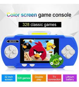 Vídeo Game Portátil Game Player Com Mais D298 Jogos Inclusos