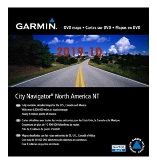Atualização Mapa Garmin North America 2019-10