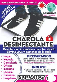 Charola Desinfectante 40x60 Protege Casa Negocio Virusbacter
