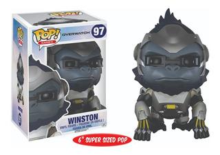 Funko Pop : Overwatch - Winston #97 6 Pulgadas