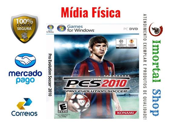Pes 2010 Game Mídia Física Pc