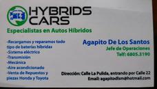 Especialistas En Carros Hybridos