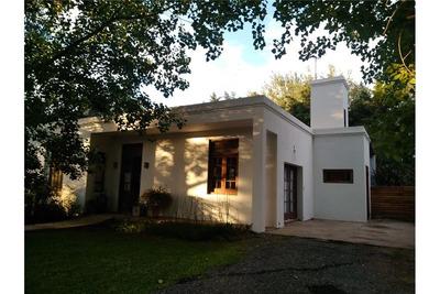 En Venta Casa Estilo Colonial (sol Paraná Barrio Privado Pueblo Esther)