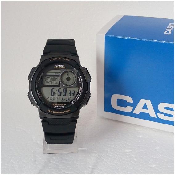 Relógio Masculino Esportivo Casio Ae1000w Digital Original Prova Dágua
