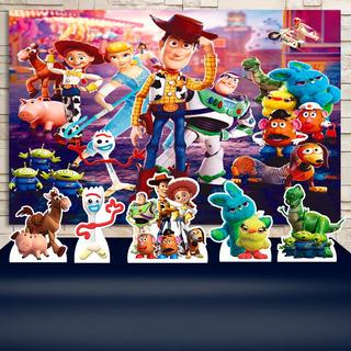 Kit Painel+display Festa Decoração Toy Story 4 , Cenários
