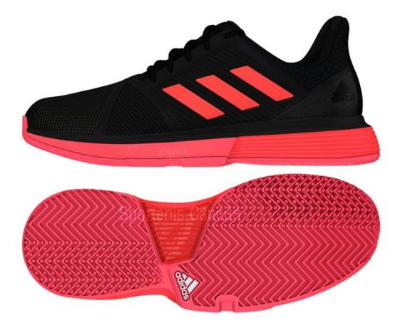 Tenis adidas Court Jam Negro /rosa Para Jugará Tenis