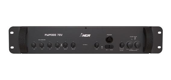 Mixer De Som Amplificado 4 Ohms 70v 300w Rms Ll Áudio