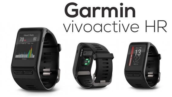 Garmin Vivoactive Hr Gps Relógio Inteligente Forerunner
